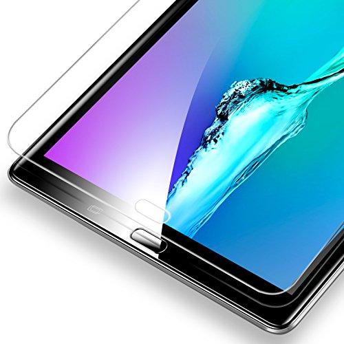 ESR Panzerglas Schutzfolie Kompatibel mit Samsung Galaxy Tab A 10.1 2016 T580/T580N/T585N, Premius 9H Hartglas Bildschirmschutzfolie [HD Kristallklar Blasenfrei Kratzfest]