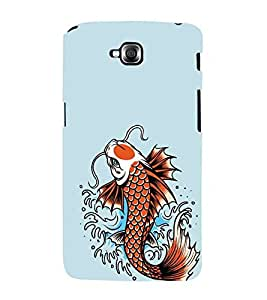 For LG G Pro Lite :: LG Pro Lite D680 D682TR :: LG G Pro Lite Dual :: LG Pro Lite Dual D686 nice fish ( beautiful fish, nice fish, cartoon, fish ) Printed Designer Back Case Cover By FashionCops