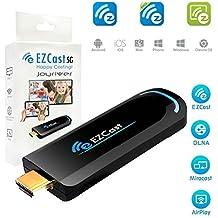 5G potente Ezcast Wifi pantalla Dongle OTA Receptor de streaming Stick apoyo hdmi inalámbrico miracast DLNA Airplay