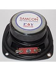 Soumik Electricals 3 inch Speaker, 5 Watt Speaker for Home Theater (Pack of 2)