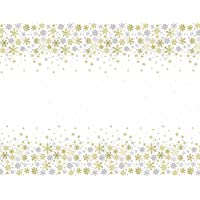 Gold Snowflake Christmas Party Supplies