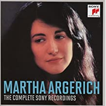 Martha Argerich: The Complete Sony Recordings (Coffret 5 CD)
