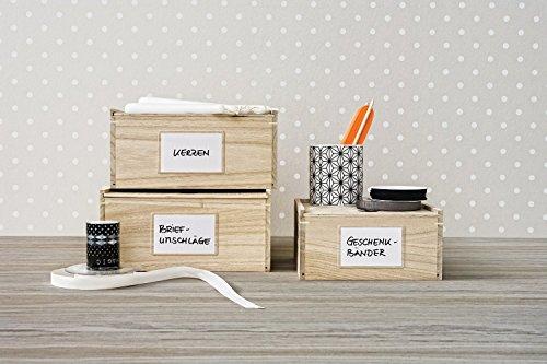 Avery 62014 Rectángulo Blanco 4pieza(s) - Etiqueta autoadhesiva (Blanco, Rectángulo, Caja de cartón, De plástico, 95 mm, 60 mm, 4 pieza(s))