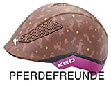 KED Reithelm PINA Cycle & Ride für den Reitsport und Fahrrad-stufenlos verstellbar Pferdefreunde Gr. M = 51-56 cm| Reitkappe – Fahrradhelm