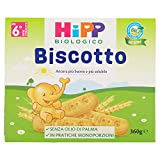 Hipp Biscotto Solubile - 4 pezzi da 360 gr [1440 gr]