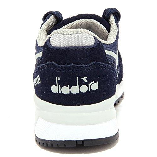 Diadora N9000 Y, Sneaker a Collo Basso Unisex-Bambini Blu