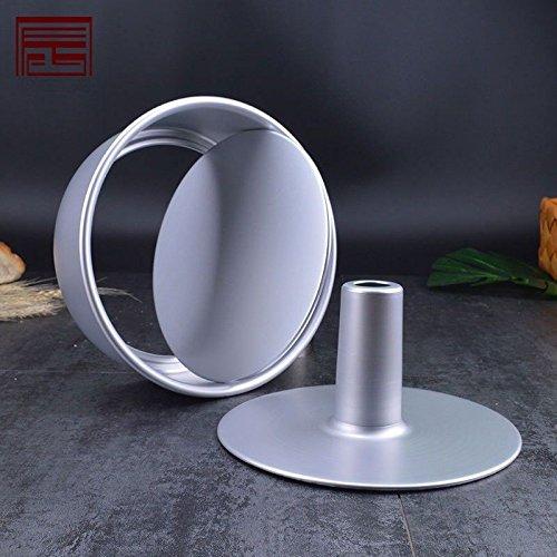 DIY backen Tools 6 Zoll 8 Zoll Aluminium hohl Schornstein schimmel Aluminium Anode Engel Kuchenform, 26,7 cm (6-zoll-schornstein)