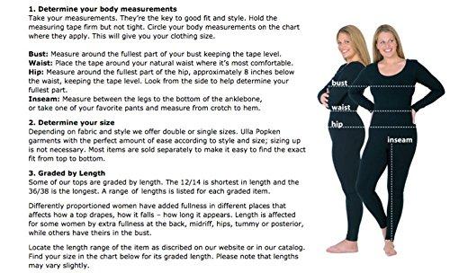 UllaPopken Damen große Größen | Blazer | Basic | Tailliert | Business | Stretch | bis Größe 54 | 707971 Schwarz (Schwarz 10)