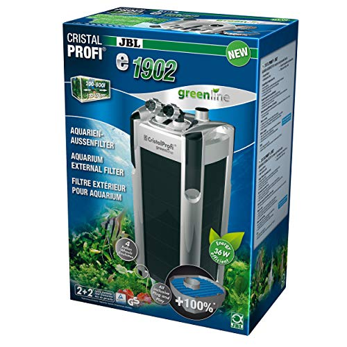 JBL Außenfilter für Aquarien von 200-800 Litern, CristalProfi e1902 greenline