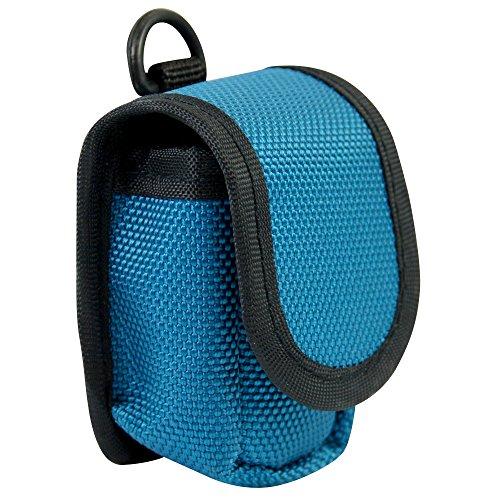 Nylontasche für Fingerpulsoximeter 7,5 x 5,5 x 4,5 cm verschiedenen Farben, Farben:Blau