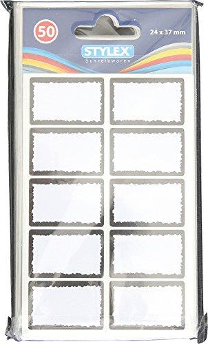 Tiefkühl-Etiketten, weiss, 50 Stück