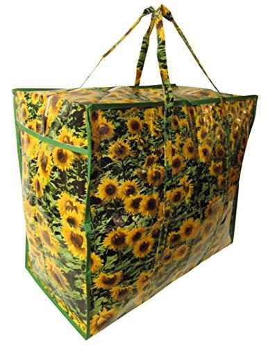 mehrere DONKEY Aufbewahrungstasche von JOSYBAG Sonnenblumen 4 Stück