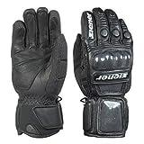 Ziener Race Glove Rennhandschuhe Handschuhe Leder Gage schwarz 12