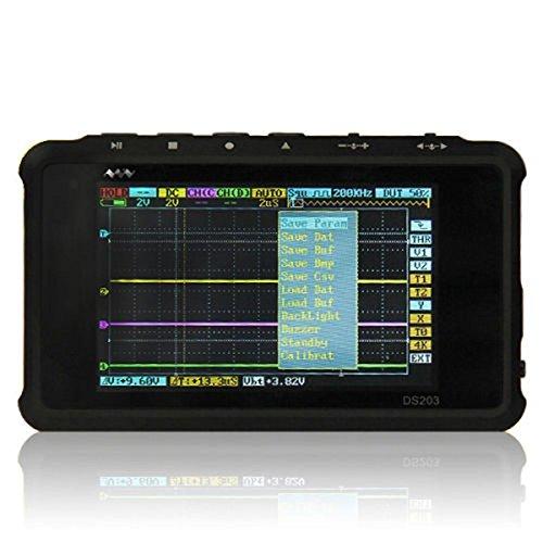 kuman-ds203-mini-oscilloscope-kit72mhzstm32-nano-4-channels72ms-s-arm-pocket-size-digital-oscillosco