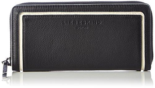 Liebeskind Berlin Damen Sallys7 Esmono Geldbörse, Schwarz (nairobi black), 20x10x3 cm