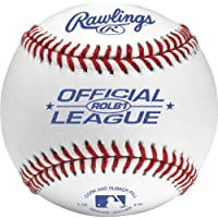 Rawlings ROLB1 Official League Recreational Grade Baseballs (One Dozen)