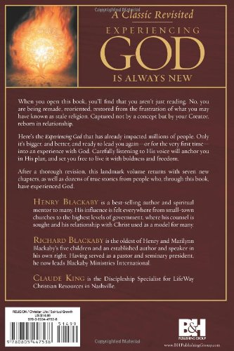 Experiencing God: Knowing and Doing the Will of God