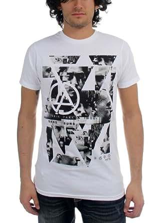 Linkin Park - - Männer Angels T-Shirt in Weiß, Large, White