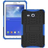 Skytar Samsung Galaxy Tab 3 Lite 7.0 Funda,2IN1 Hybrid Armor Design Carcasa de Policarbonato Duro + TPU Silicona Case Cover Funda para Samsung Galaxy Tab 3 Lite 7.0 SM-T110 T111 T113 T116 Protectora