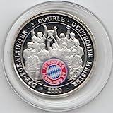 Generic Medaille FC Bayern München 2000 Polierte Platte 2000 3. Double (Münzen für Sammler)