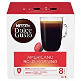 Nescafé Dolce Gusto Americano Bold Morning Coffee Pods, 16 Capsules (Pack of 3 - Total 48 Capsules, 48 Servings)