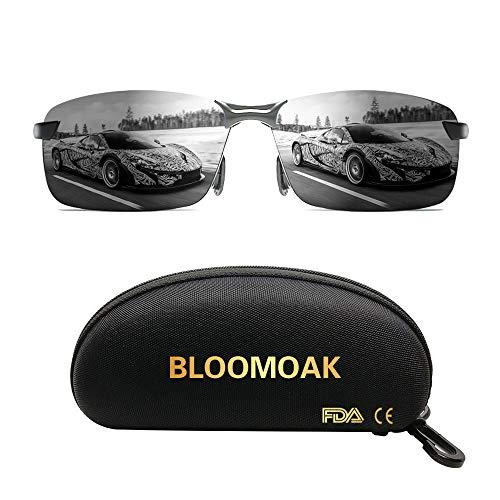 Beste Fahrbrille - für den UV400-Augenschutz | HD-Vision | Polarisiert | Fischen | Fahren | Risikoreduzierung | Blendschutz | Sport im Freien | Ultraleicht
