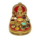Divya Mantra Shri Dhanvarsha Kuber Yantra Chowki
