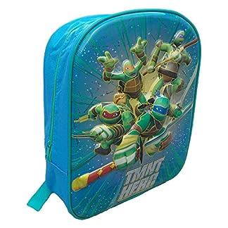 51vV3Djn5IL. SS324  - Cartoon Mochila 3D Tortugas Ninja Nickelodeon 6D Asylum School Bag CM.34 - TU0040