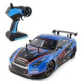 Jiangfu 2,4GRC véhicule Haut débit Racing RC voitures 1: 10télécommande Meilleur Cadeau pour enfants, bleu, A