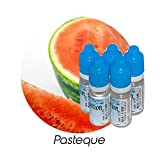MA POTION - Lot de 5 E-Liquide Fruit Pastèque, Eliquide Français Ma Potion, recharge liquide cigarette électronique. Sans nicotine ni tabac