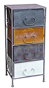 Armadietto in metallo vintage