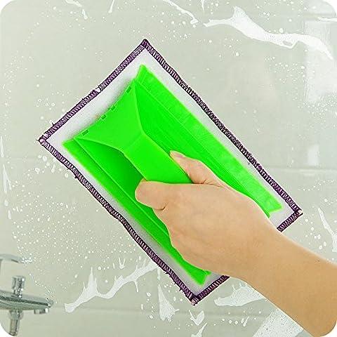 Brosse de nettoyage en verre Wiper fenêtre Clean Shave Verre pour vitres de voitures Cleaner (couleur