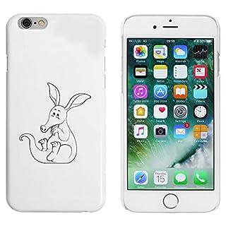 Azeeda White 'Happy Aardvark' Case / Cover for iPhone 6 & 6s (MC00029250)