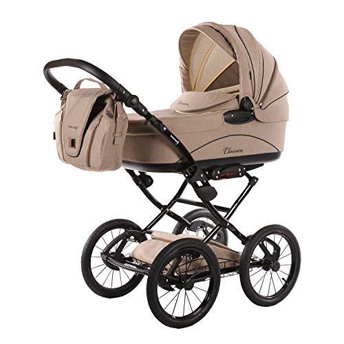 Knorr-Baby Babyschale Milan 0-13 kg für Kinderwagen Classico hellgrau NEU