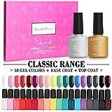 Best Uv Gel For Nails - Lavender Violets® 20 PCS Soak off Gel Nail Review