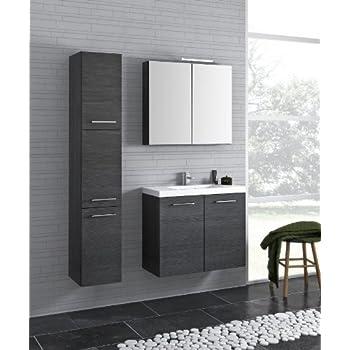Bad Möbel Set POCO 80 1, Bestehende Von Waschbeckenunterschrank Mit  Designer Keramik Waschbecken BxHxT