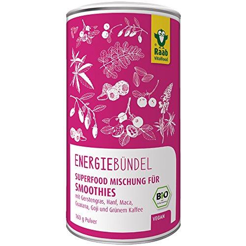 Raab Energiebündel Superfood Mischung - Bio - 160g - Hanf-kaffee
