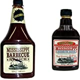 Mississippi Barbecue Grill Sauce 'Original & Sweet'n Spicy', 1560ml + 440ml (Doppelpack)