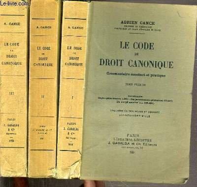 le code du droit canonique