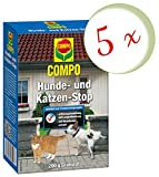 Oleanderhof® Sparset: 5 x COMPO Hunde- und Katzen-Stop, 200 g + gratis Oleanderhof Flyer
