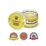 ProGroom Balsamo Lenitivo per Zampa di Cane - Protezione naturale dell'unguento - Crema biologica non pericolosa per leccare - 50 ml