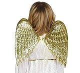 Guirca-18663 Alas Angel Oro Infantil 40x35, Multicolor (18663)