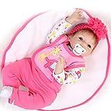 Babypuppe Neugeborene Lebensechte Realistische Reborn Baby Puppe Neugeborenes Baby Spielzeug (E)