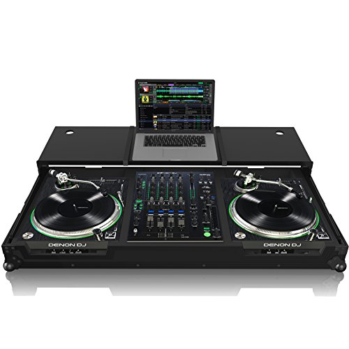 Zomo VLX-1800 Plus NSE - Flightcase für Denon Prime Series | 1x Mixer | 2X Turntable oder Player | Mit Laptopablage Nse Serie