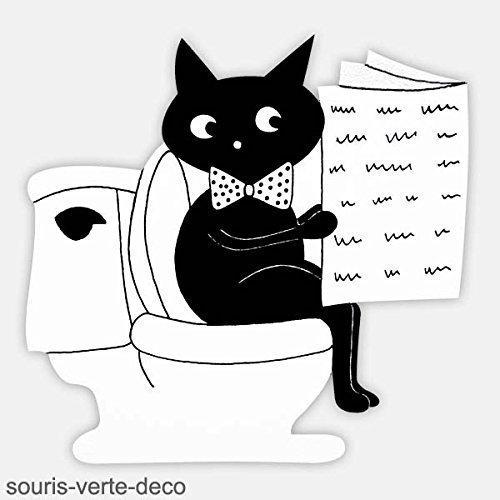 Placa decorativa puertas servicio, gato