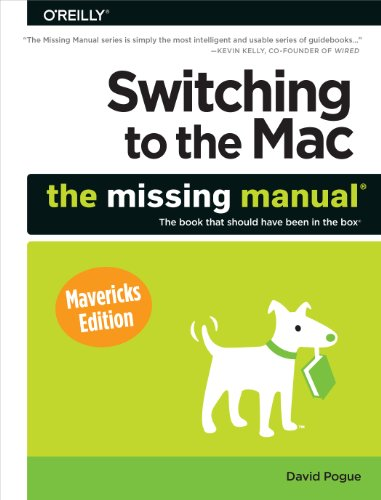 Lion Pda (Switching to the Mac: The Missing Manual, Mavericks Edition)