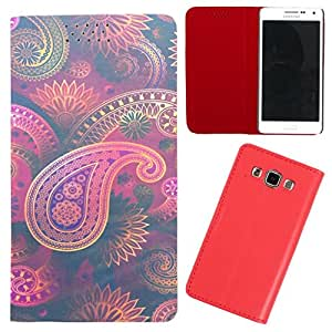 DooDa - For Lenovo P780 PU Leather Designer Fashionable Fancy Flip Case Cover Pouch With Smooth Inner Velvet