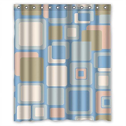 Dinosaurier Skelett-Muster Print Dusche Vorhänge Polyester-167,6x 182,9cm-Badezimmer Vorhang mit Haken