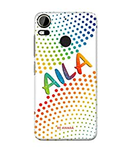 Be Awara Aila Printed Back Case Cover for HTC Desire 10 Pro