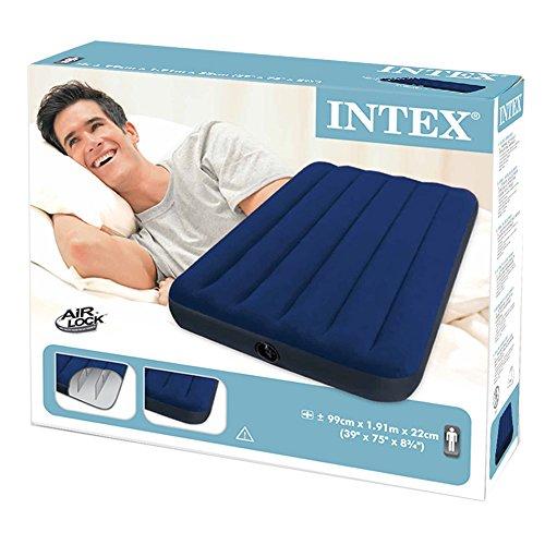 Intex Luftmatratzte, 68757, Blau, 99 x 191 x 22 cm - 4